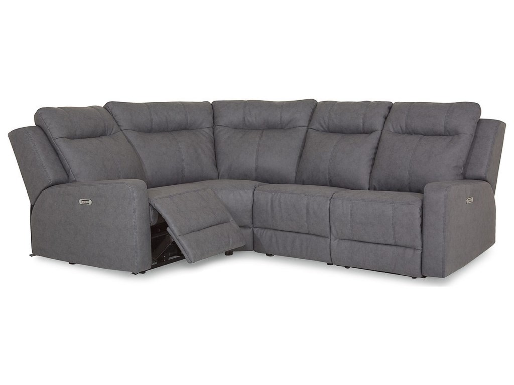 Palliser Redwood4-Piece Power Reclining Sectional