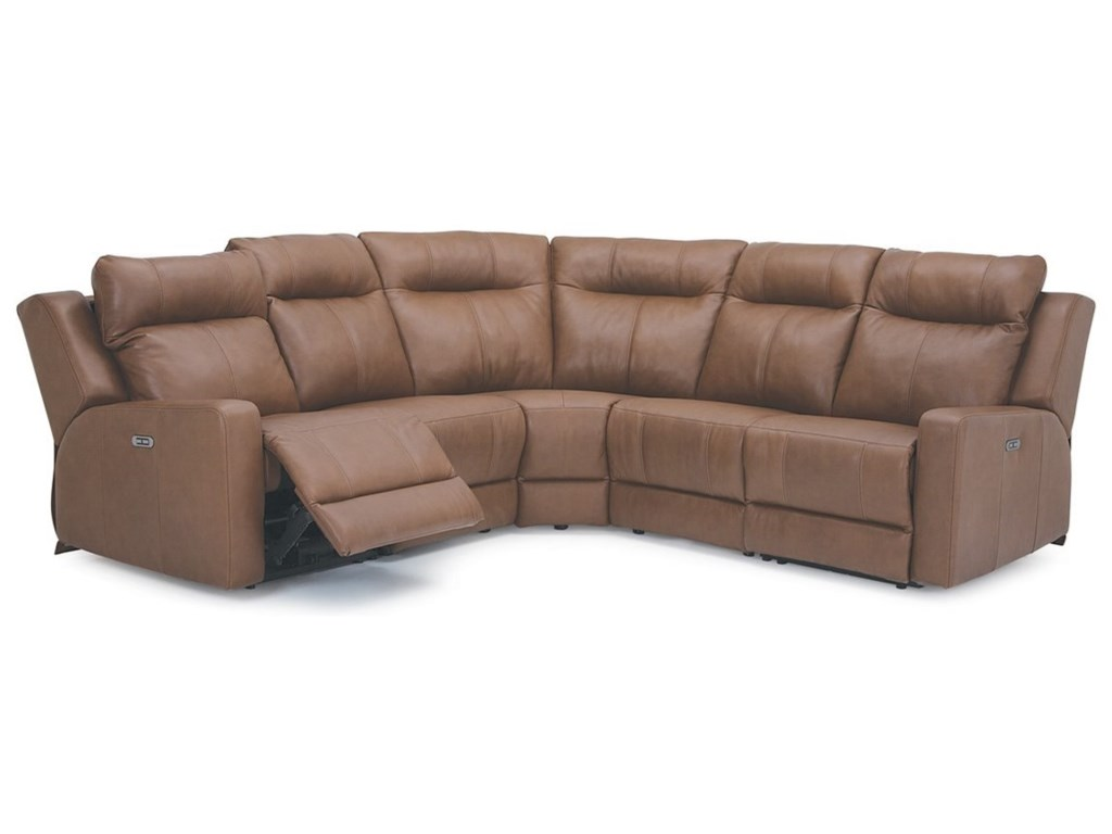 Palliser Redwood5-Piece Power Reclining Sectional