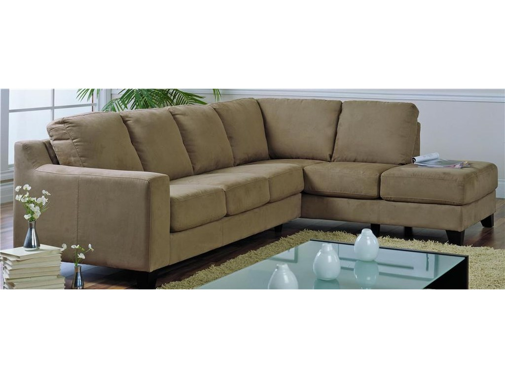 Palliser Reedupholstered Sectional