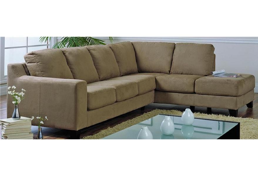 Palliser Reed Upholstered Sectional