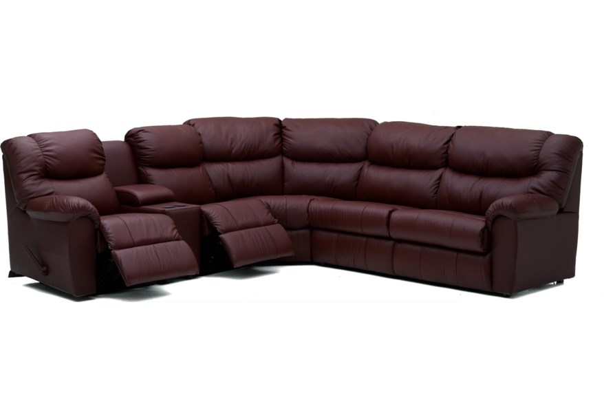 Regent Casual Reclining Sectional Sofa