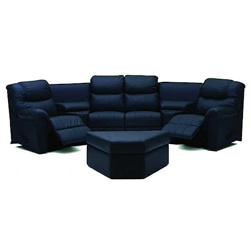 Palliser Regent Four Seat Living Room Sectional
