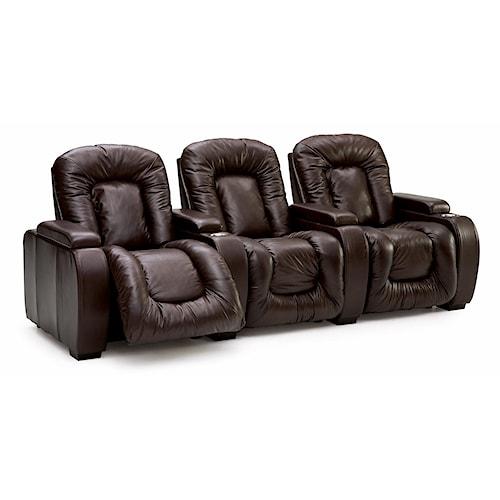 Palliser Rhumba Three Piece Motion Theater Seating