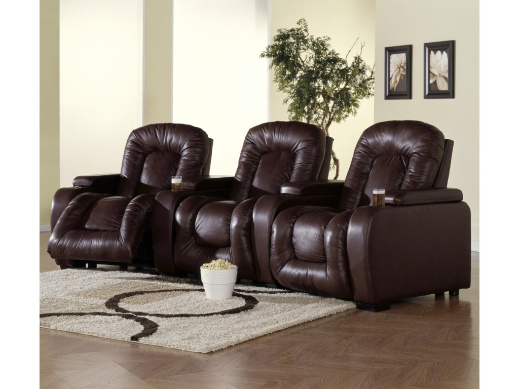 Palliser RhumbaThree Person Home Theater Recliner