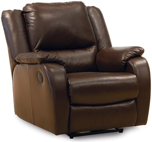 Palliser Sawgrass Casual Rocker Recliner with Full Chaise Cushion