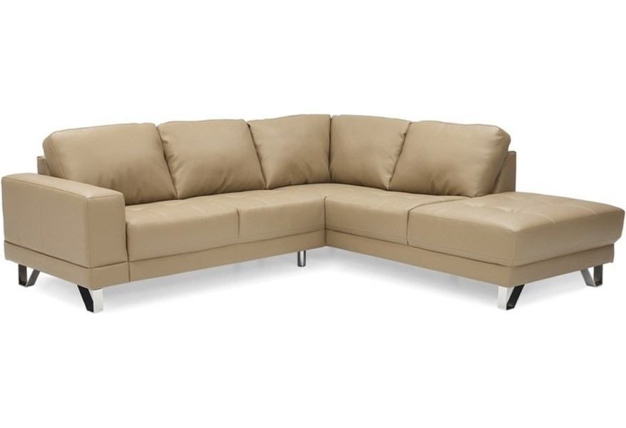 Palliser Seattle Contemporary 2-Piece Sectional | Dunk ...