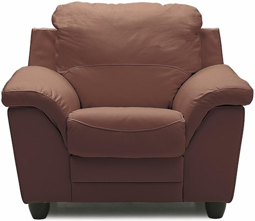 Palliser Sirus Casual Chair with Sloped Pillow Arms