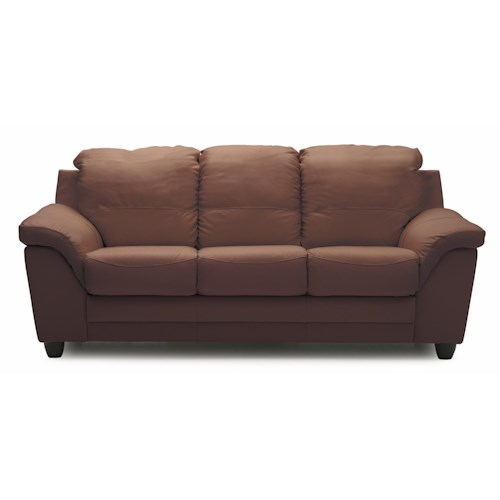 Palliser Sirus Casual Sofa with Sloped Pillow Arms