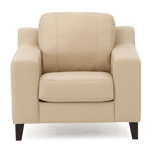 Palliser Sonora Contemporary Chair w/ Track Arms