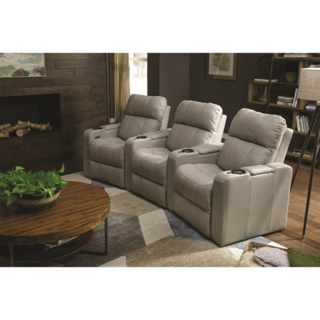Triple Power Theater Recliner