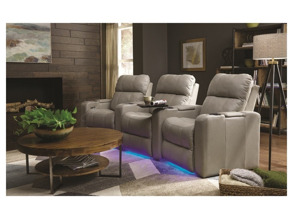 Palliser SoundtrackTriple Power Theater Recliner