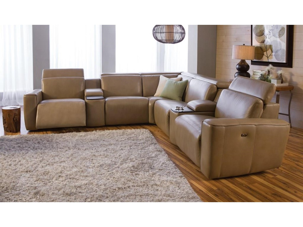 Palliser SpringfieldReclining Sectional Sofa