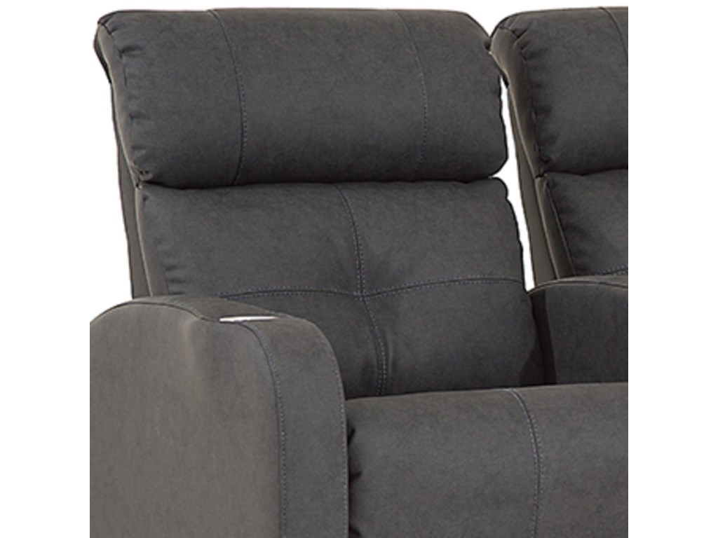 Palliser Stereo2 Seat Theater Seating