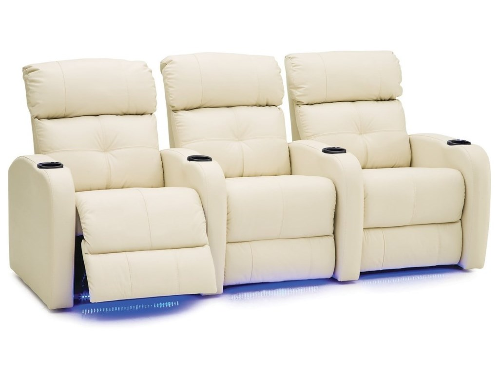 Palliser StereoTheater Seating Power Sectional