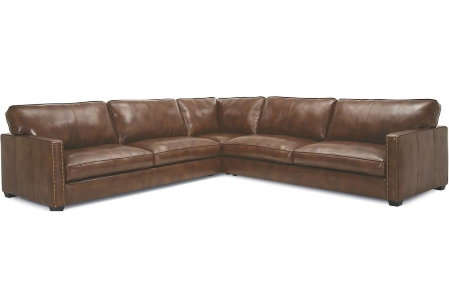 Palliser Talia 77716 12 11 13 Contemporary Sectional Sofa With