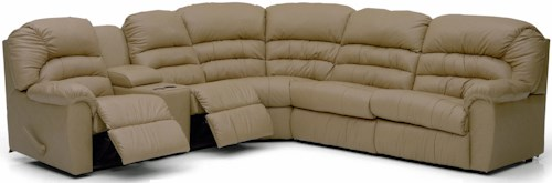 Palliser Taurus Luxurious Sectional Sofa