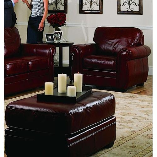 Palliser Thompson 77792 Chair and Ottoman
