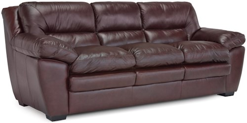 Palliser Thurston Casual Sofa with Pillow Arms