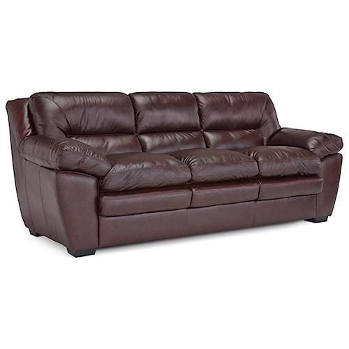Palliser Thurston Casual Sofa with Pillow Arms