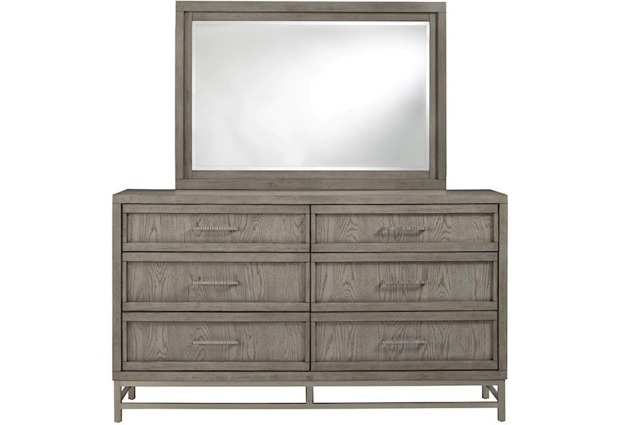 Palliser Venice 120 401 Contemporary Mirror Furniture And
