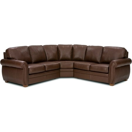 3-Piece Curved Sectional
