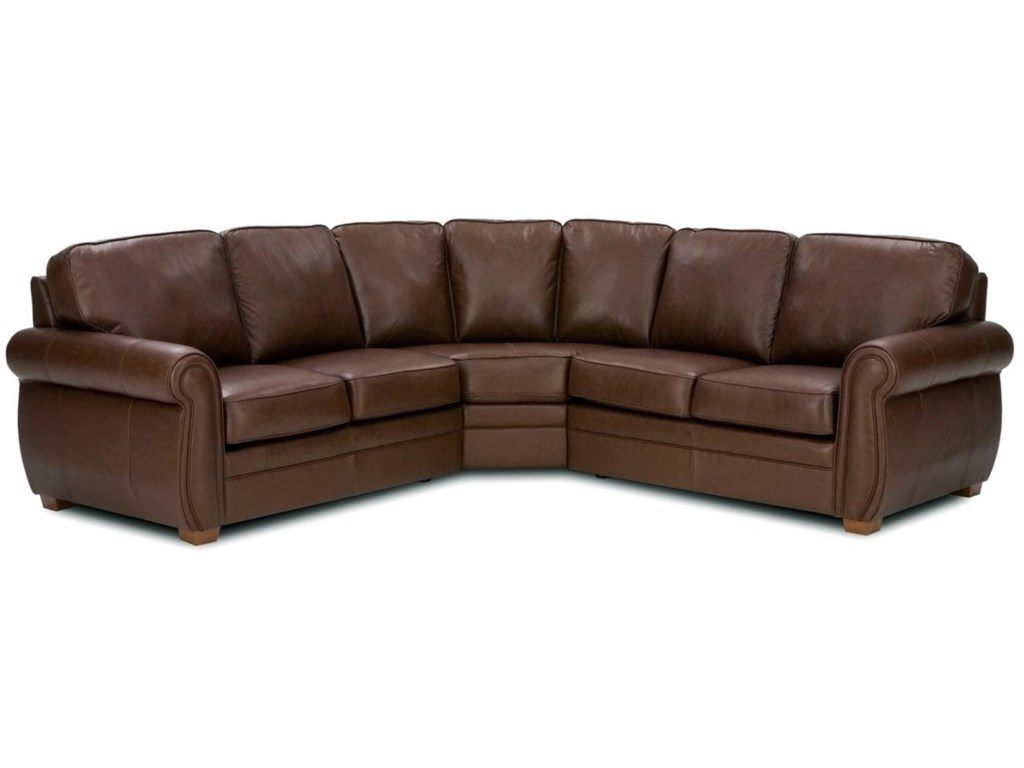 Palliser Viceroy3-Piece Curved Sectional