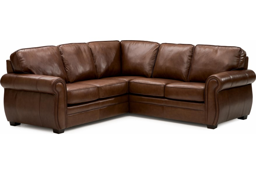 Palliser Viceroy Leather Sectional Sofa