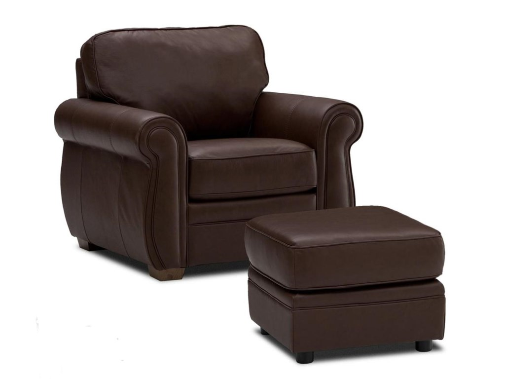 Palliser Viceroy 77492Chair and Ottoman Set