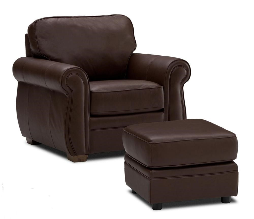 Superieur Viceroy 77492 Chair And Square Ottoman By Palliser