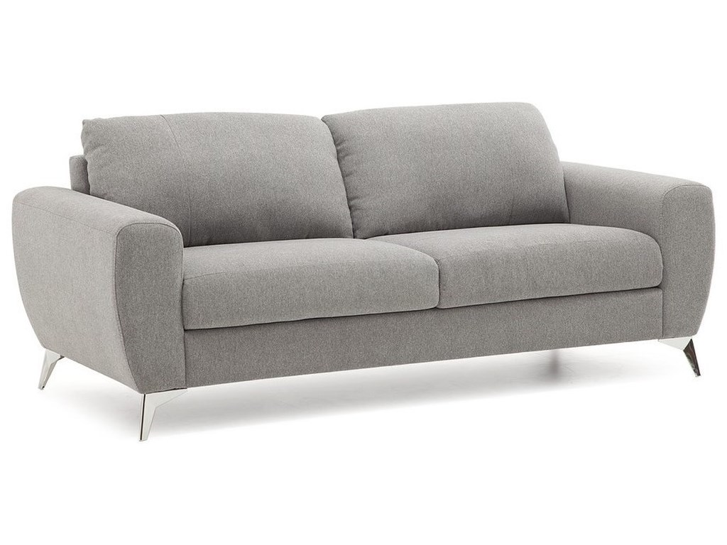 Palliser Vivy 77783-01 Contemporary Sofa with Metal Legs ...