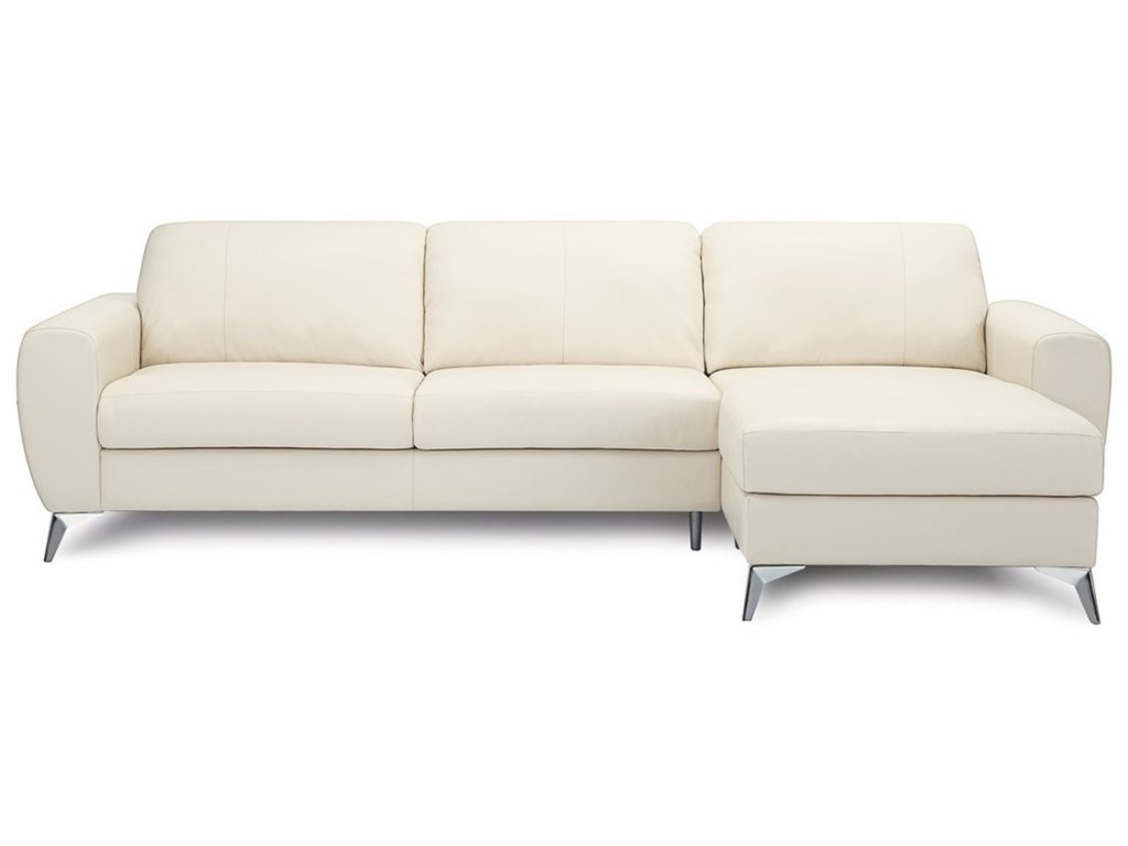 Palliser Vivy Three Seat Sectional Sofa with Modern Appeal ...