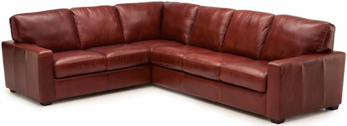 Palliser Westend Contemporary 2 pc. Sectional with LHF Sofa Split