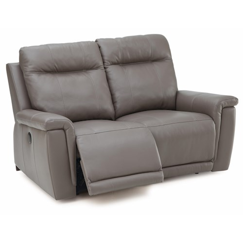 Palliser Westpoint Contemporary Loveseat Recliner w/ Power