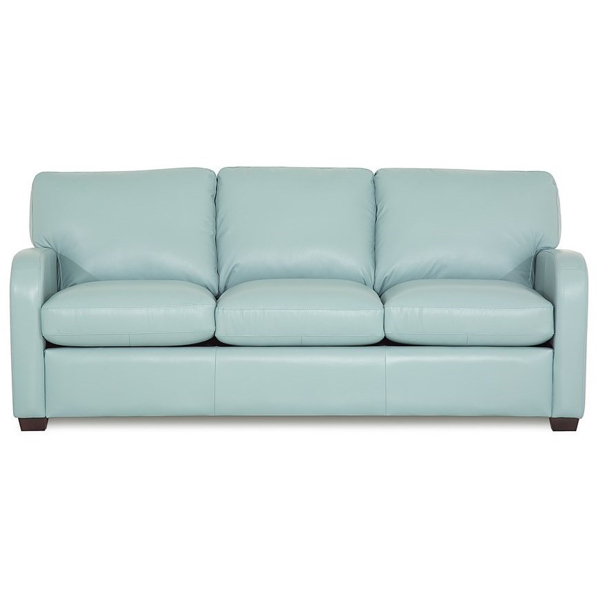 Palliser Westside Contemporary Sofa Bed With Curved Track