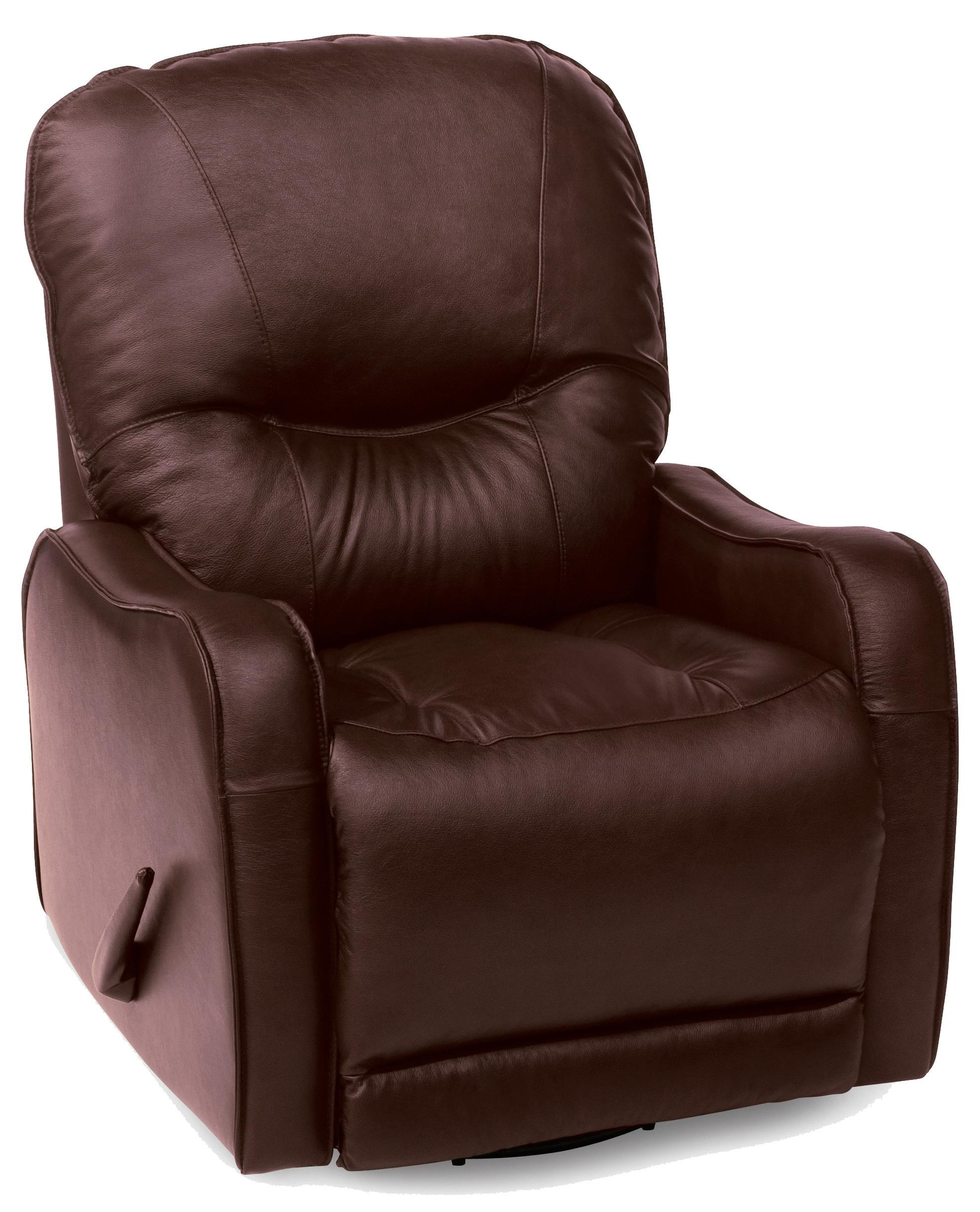 Casual Power Rocker Recliner with Sloped Track Arms