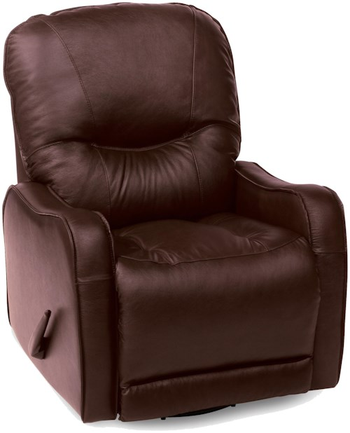 Palliser Yates  Casual Wallhugger Recliner with Sloped Track Arms