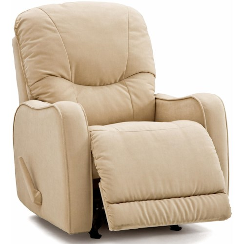 Palliser Yates Casual 2-Motor Power Recliner with Sloped Track Arms