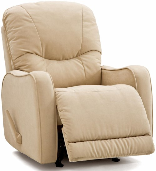 Palliser Yates Casual Power Swivel Glider Recliner with Sloped Track Arms