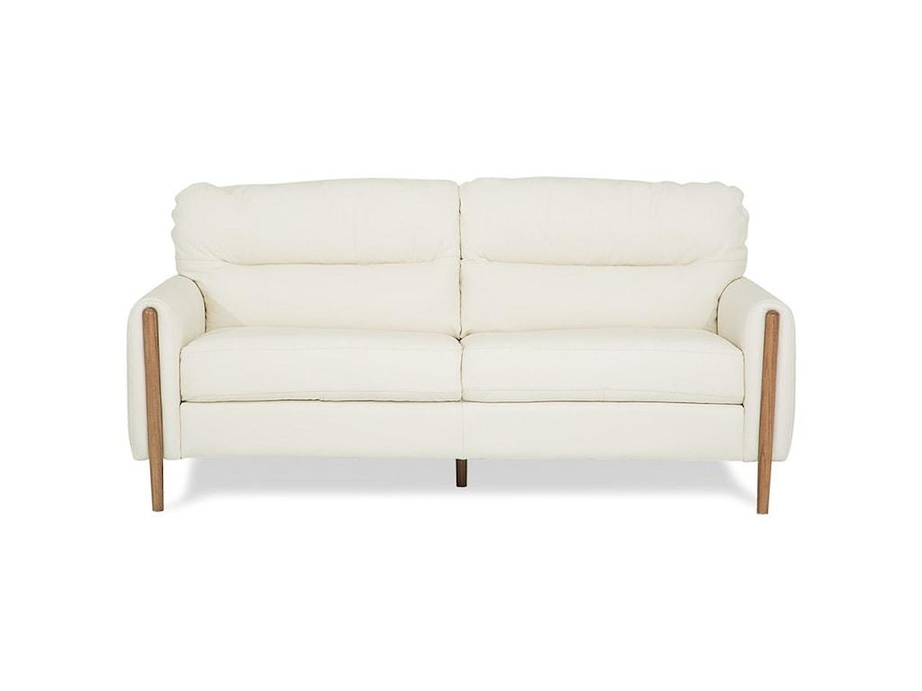 Palliser Zander 77745-91 Mid-Century Modern Apartment Sofa ...