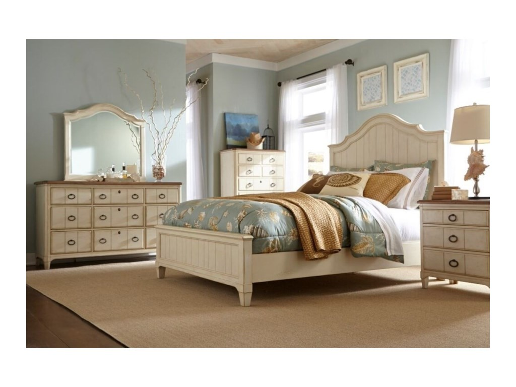 Panama Jack by Palmetto Home MillbrookQueen Bedroom Group