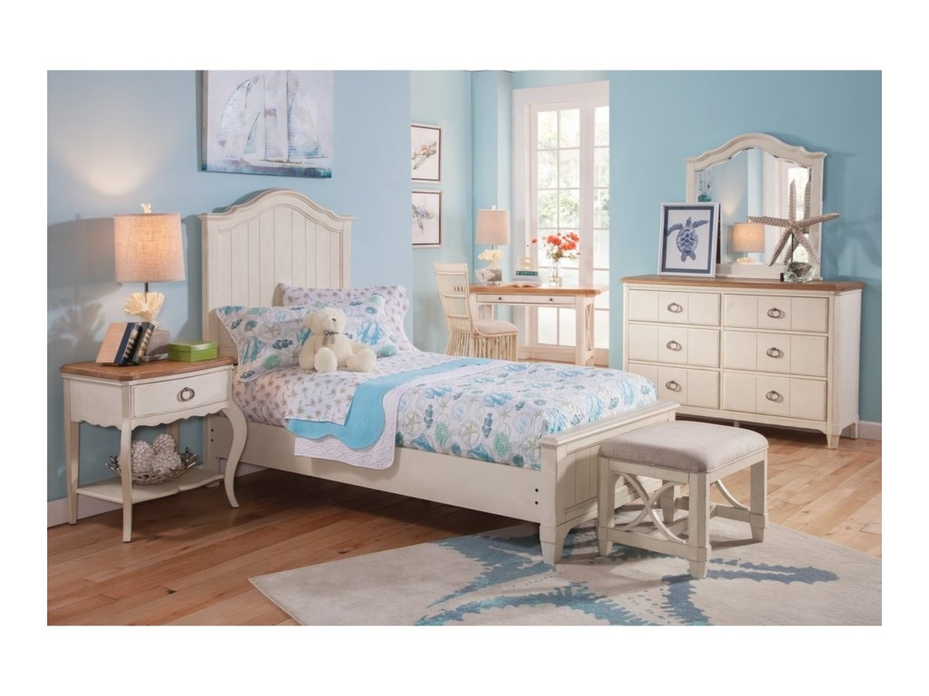 Panama Jack by Palmetto Home MillbrookTwin Bedroom Group