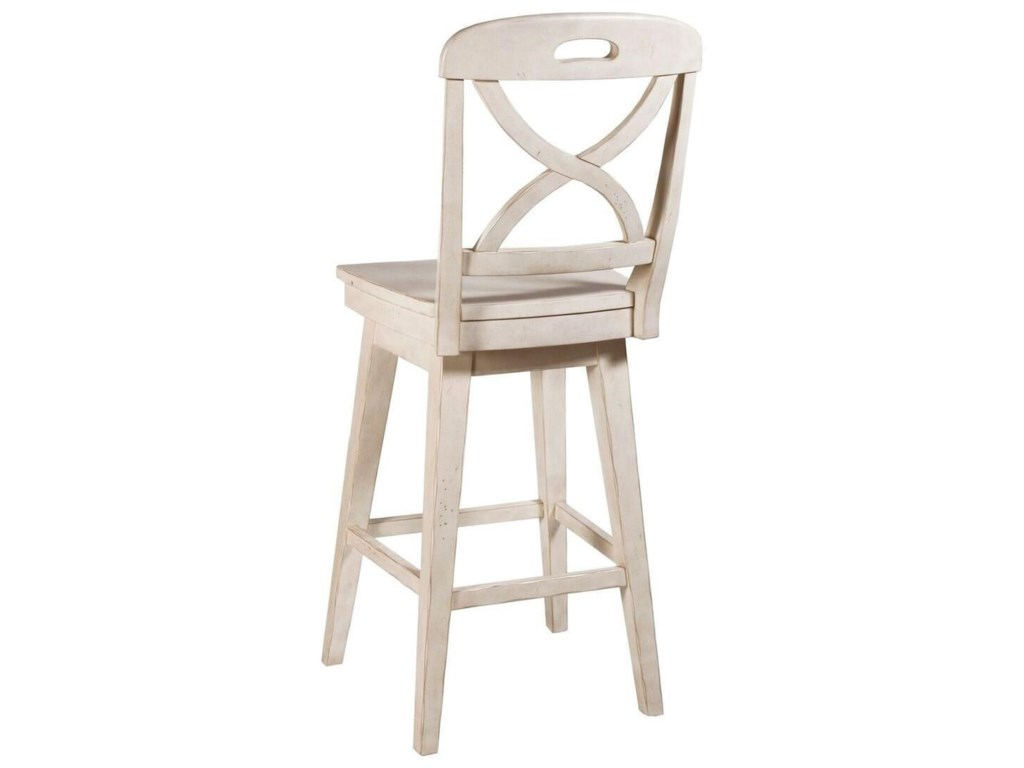 Panama Jack by Palmetto Home MillbrookX Back Cream SW Barstool