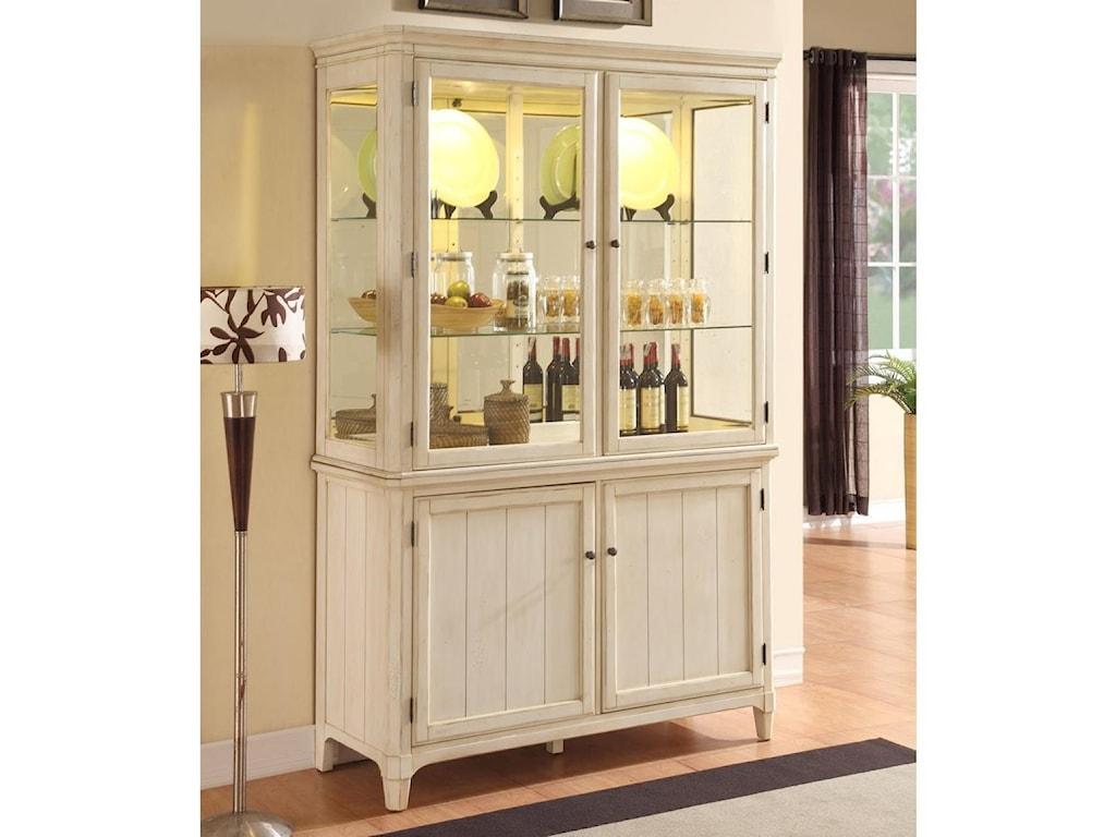 Panama Jack by Palmetto Home MillbrookCurio Cabinet