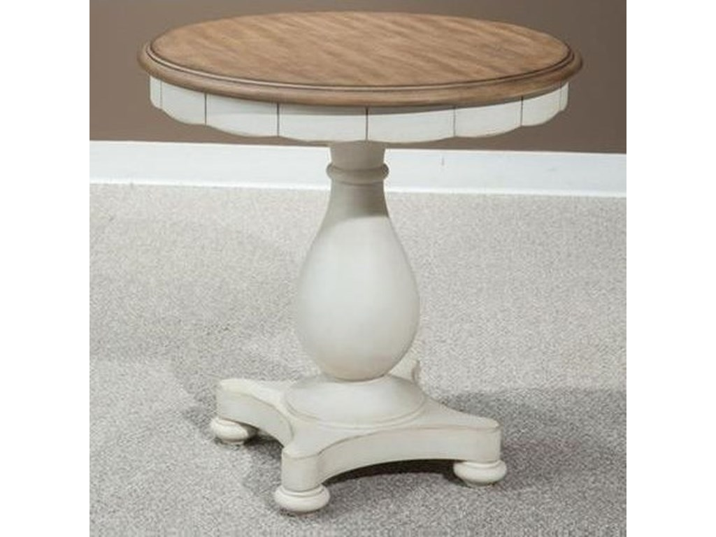 Panama Jack by Palmetto Home MillbrookRound Lamp Table