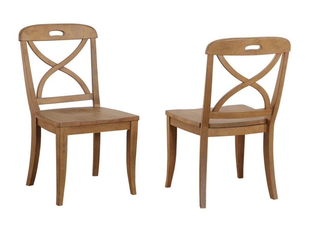 Panama Jack by Palmetto Home MillbrookX Back Dining Side Chair