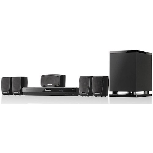 Panasonic 2013 Home Theater Systems ENERGY STAR® 5.1 Channel 400 Watt Home Theater System with DVD Player