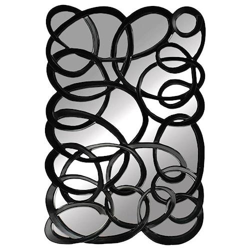 Paragon Mirrors Black Interlaced Mirror