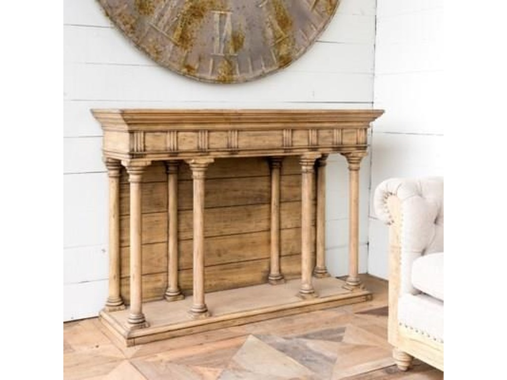Park Hill Collection Sdf Capital Hotel Hickory Console Table