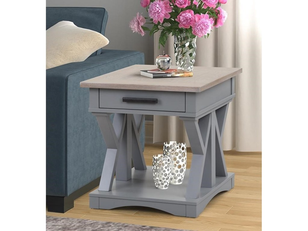 Paramount Furniture Americana ModernEnd Table