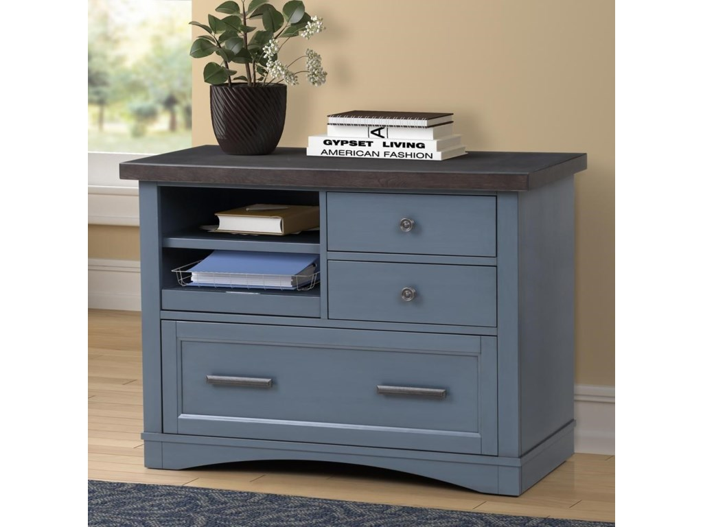 Paramount Furniture Americana ModernFunctional File w/ Power Center